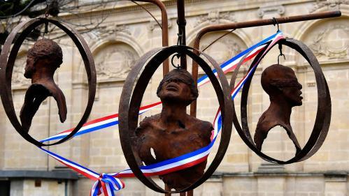 À Bordeaux, ancien port négrier, on commémore l'abolition de l'esclavage