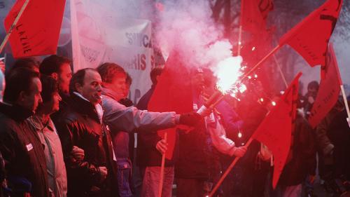 """""""Un air de Mai-68 en hiver"""" : des syndicalistes se souviennent des grandes grèves de 1995"""