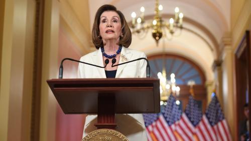 Procédure de destitution contre Trump : la présidente de la Chambre des représentants demande que soit rédigé l'acte d'accusation
