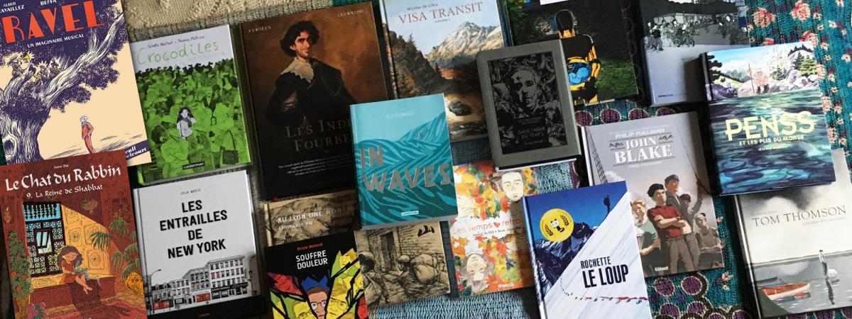 Des Livres A Offrir A Noel Vingt Superbes Bd A Glisser