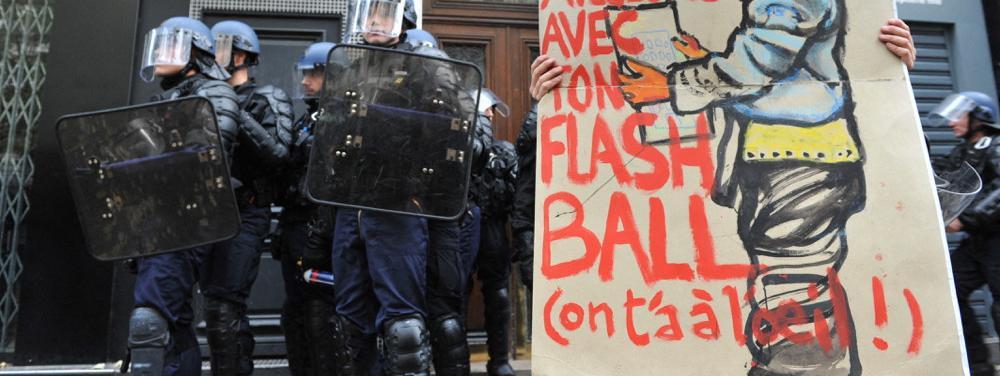 """""""À partir de maintenant, ce sera œil pour œil"""" : plus d'une dizaine de policiers et CRS ont reçu des menace..."""