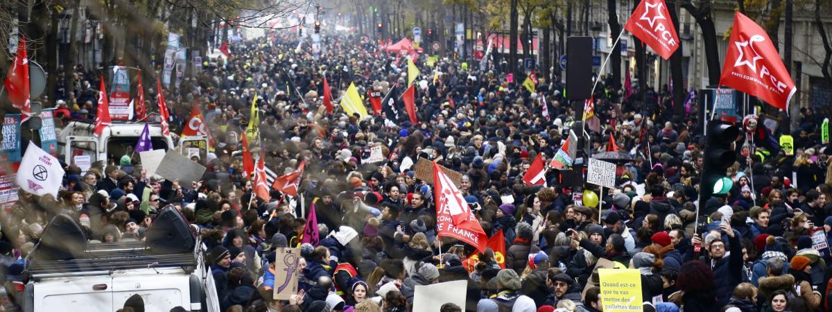 Grève du 5 décembre : combien y avait-il de manifestants à Paris ?
