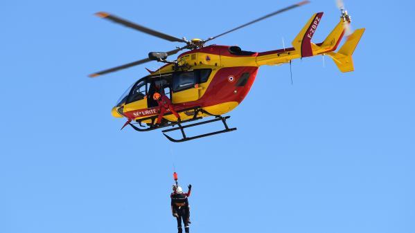 Accident d'hélicoptère : l'hommage aux trois secouristes décédés