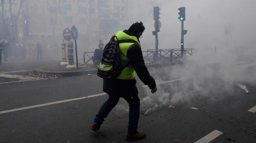 """DIRECT. Grève du 7 décembre : quelques tensions lors de la manifestation parisienne des """"gilets jaunes"""""""