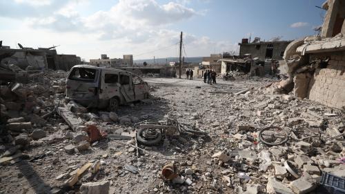 Syrie : douze civils dont des enfants tués dans des raids sur Idleb