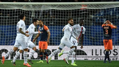 Foot : le PSG et Neymar renversent Montpellier