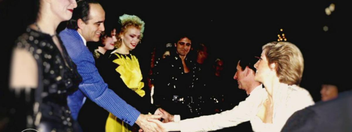 """VIDEO. Quand l'opéra-rock """"Starmania"""", joué à l'Elysée en 1988, n'a même pas réussi à sortir Lady Diana de ..."""