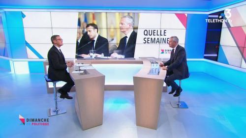 """DIRECT. Grève du 8 décembre : """"La CGT défend ses troupes plus que les Français"""", estime Bruno Le Maire, dans """"Dimanche en politique"""""""