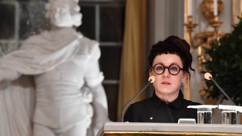 """""""Le monde est mourant et nous sommes incapables de le remarquer"""", alerte l'écrivaine Olga Tokarczuk dans son allocution pré-Nobel"""
