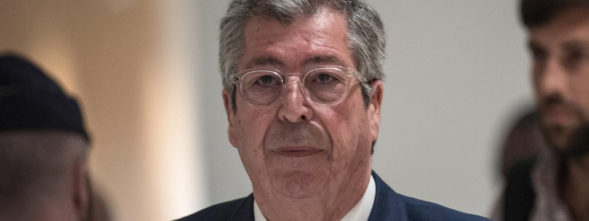 Patrick Balkany, le 13 mai 2019, à Paris.