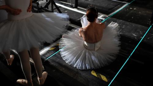 Les danseurs de l'Opéra de Paris sont aussi dans la rue pour défendre leur retraite
