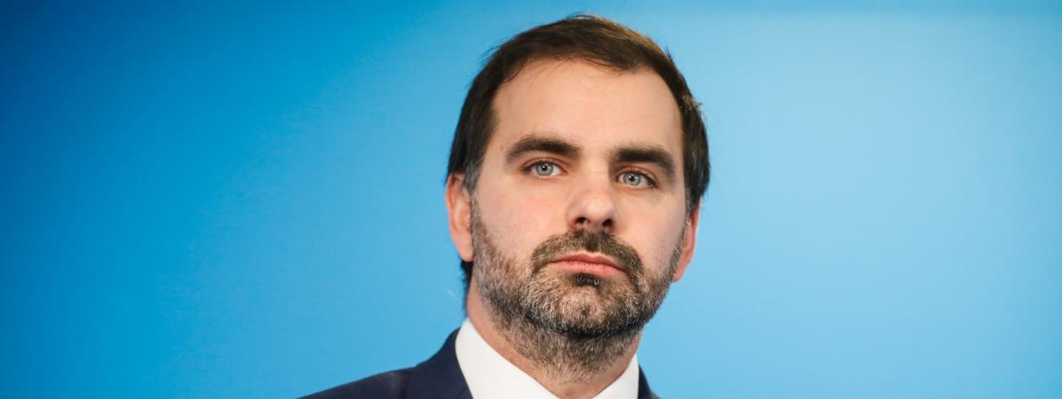 Laurent Saint-Martin, député La République en marchedu Val-de-Marne, le 14 novembre 2019.