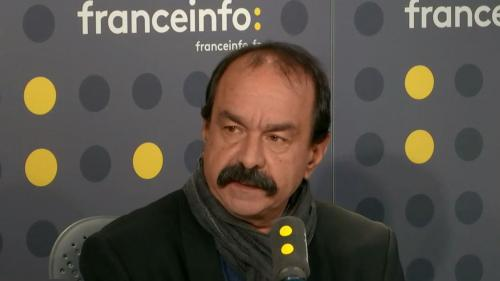 """Allocution d'Emmanuel Macron: """"On veut des actes concrets"""", réclame le secrétaire général de la CGT Philippe Martinez"""