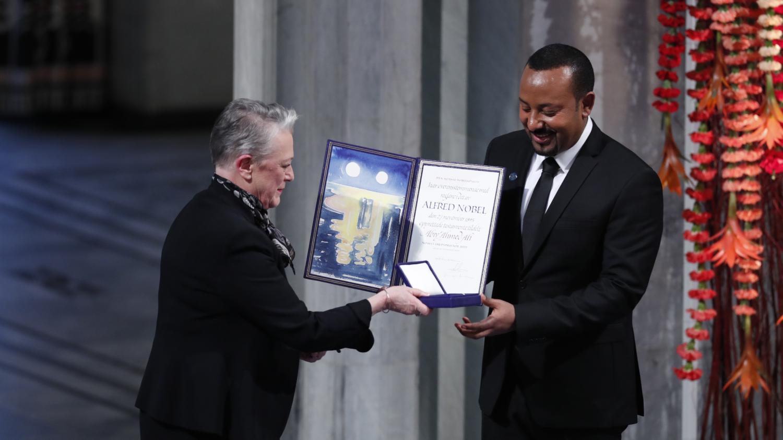 Abiy Ahmed, Premier ministre de l'Ethiopie, un prix Nobel de la paix dont la cote pâlit