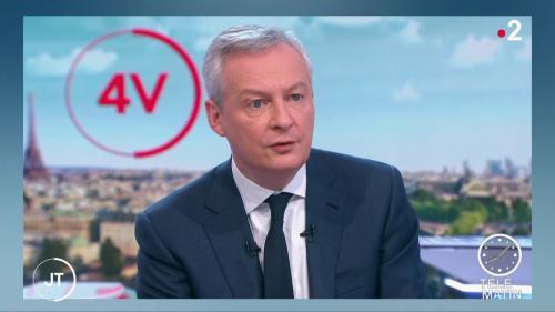 """VIDEO. Réforme des retraites : """"il y a de la place pour la négociation"""", assure Bruno Le Maire"""
