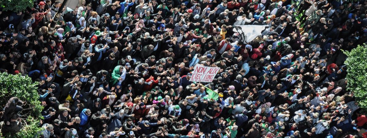 Manifestation, troubles, vote interrompu... L'élection présidentielle s'est déroulé sous tension en Algérie