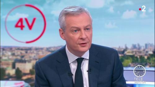 """Réforme des retraites : Bruno Le Maire propose à Laurent Berger de """"revenir à la table de discussion"""""""