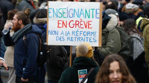 Réforme des retraites : pourquoi les enseignants ont le sentiment d'être les grands perdants des annonces du gouvernement
