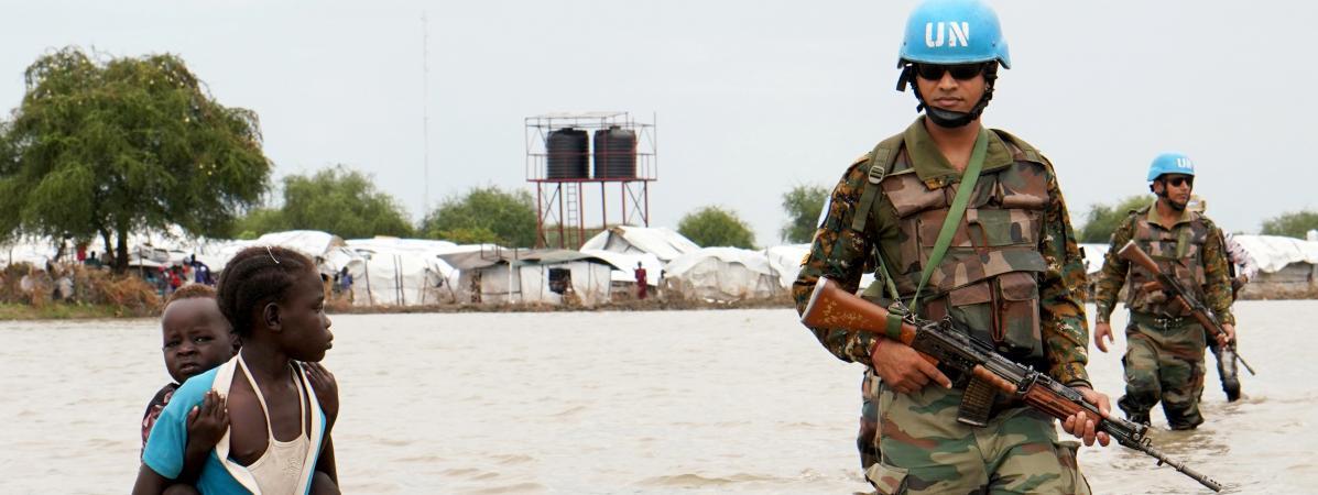 Après la sécheresse, les inondations menacent de famine plus de cinq millions d'habitants au Soudan du Sud