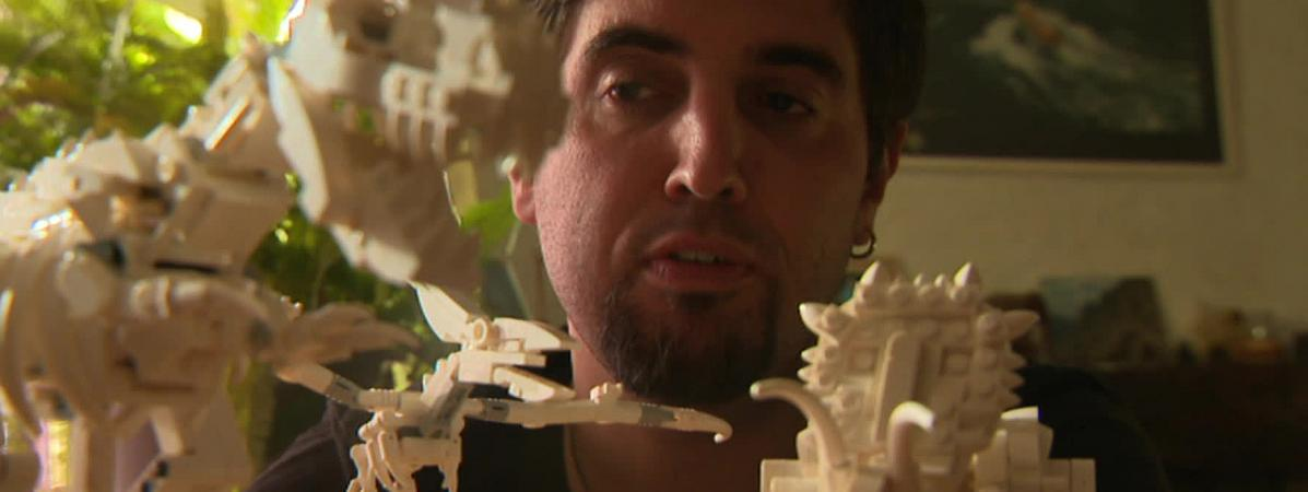 Jonathan Brunn, ce Français fan de dinosaures devenu designer pour Lego
