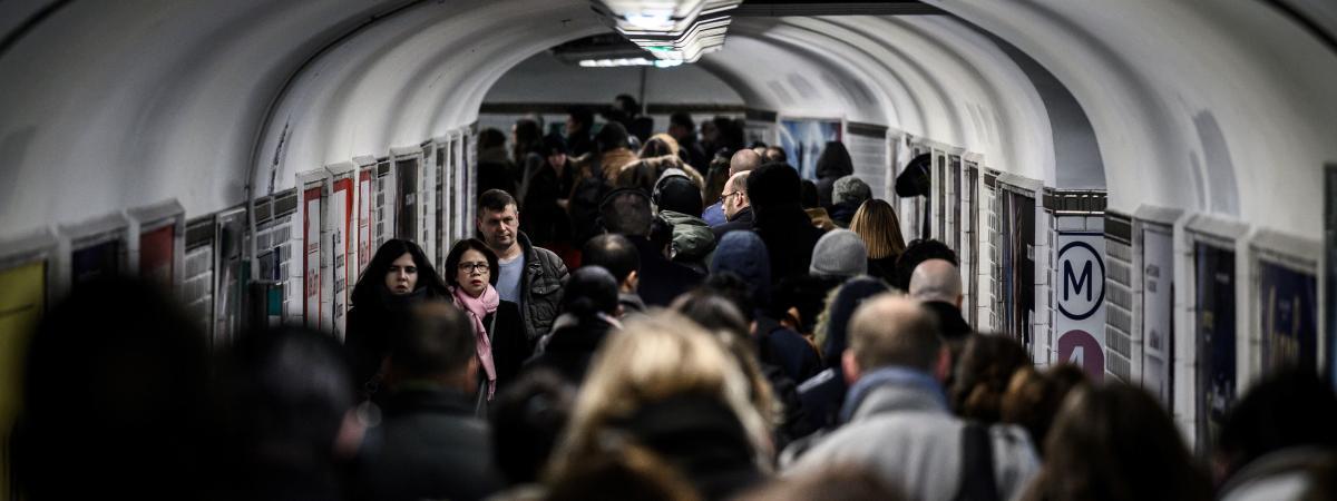 Grève du dimanche 15 décembre : le trafic sera totalement interrompu sur 14 lignes de métro à Paris