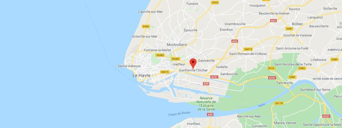 Seine-Maritime : incendie en cours dans la raffinerie Total de Gonfreville-l'Orcher, près du Havre