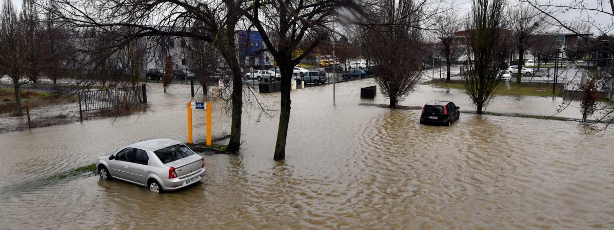 Risques d'inondations : sept départements du Sud-Ouest restent placés en vigilance orange