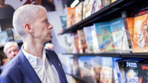 Franck Riester promet des centaines d'évènements pour l'année de la BD 2020