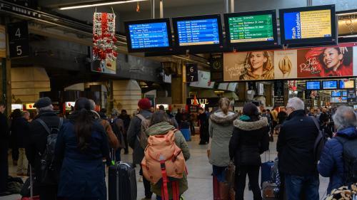 Grève du 20 décembre : le trafic SNCF s'améliore vendredi avec 1 TGV sur 2 et 1 Intercités sur 4