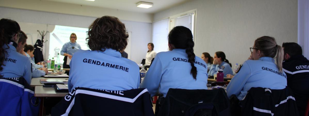"""""""Montrez que vous êtes humains"""" : comment les gendarmes se forment aux violences familiales"""