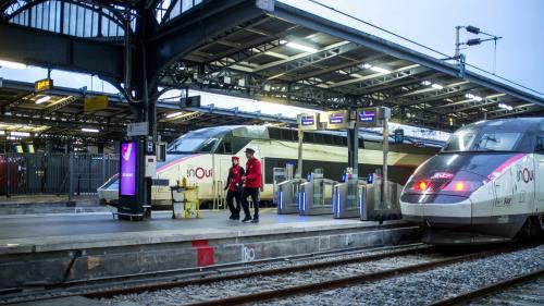 INFOGRAPHIE. Grève du 9janvier: autant de grévistes à la SNCF que lors de la dernière journée de manifestations, mais un peu moins chez les conducteurs