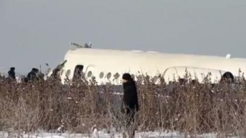 Kazakhstan : un avion de ligne s'écrase au décollage