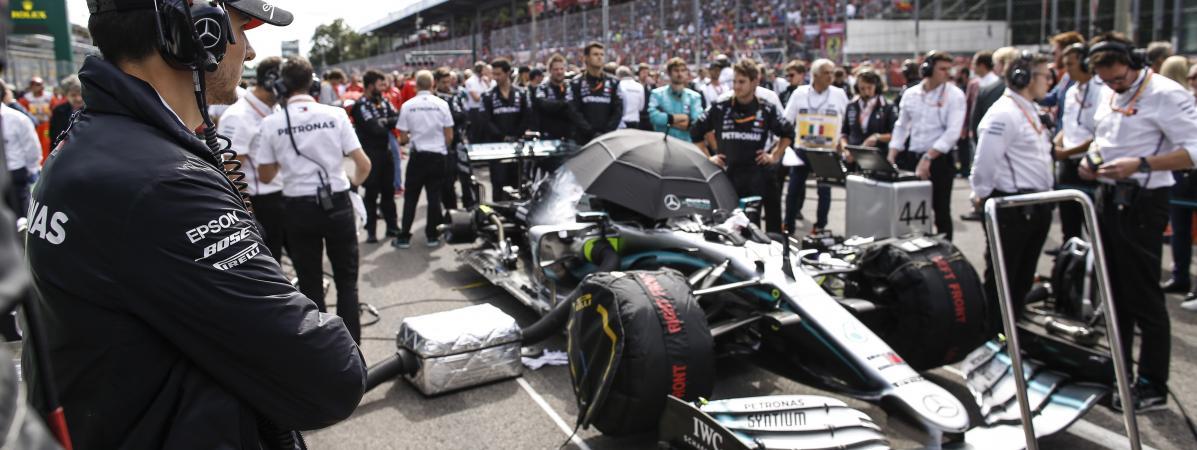 """""""Les moteurs sont ceux qui polluent le moins au monde"""" : la F1 veut atteindre une empreinte carbone neutre ..."""