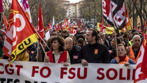 Réforme des retraites : l'intersyndicale appelle à la mobilisation le samedi 11 janvier