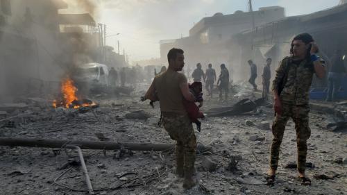 Syrie : plus de 380 000 morts en près de neuf ans de guerre en Syrie, selon l'OSDH