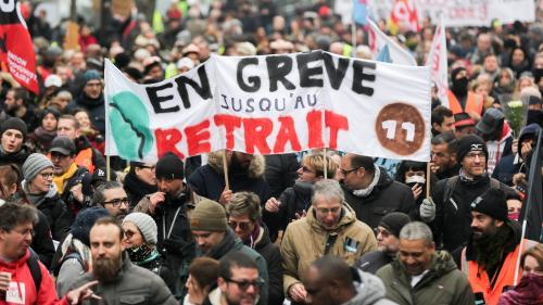 DIRECT. Grève du 6 janvier : suivez la journée de mobilisation à la RATP et à la SNCF en temps réel et les perturbations dans les écoles et les crèches