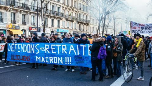 Réforme des retraites : les Français se disent majoritairement pour que le gouvernement n'aille pas au bout, selon un nouveau sondage