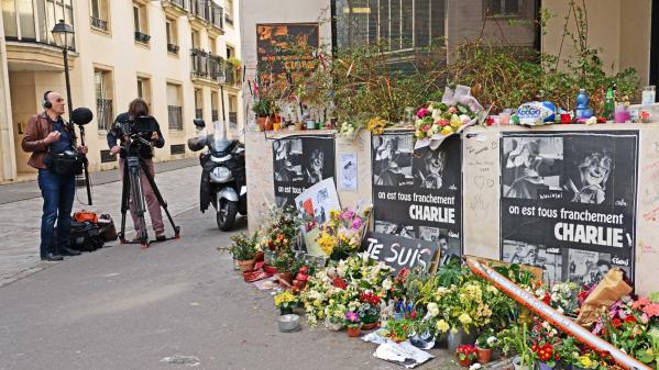 """AUDIO. """"Charlie Hebdo"""", cinq ans après : comment franceinfo a couvert la terrible journée du 7 janvier 2015"""