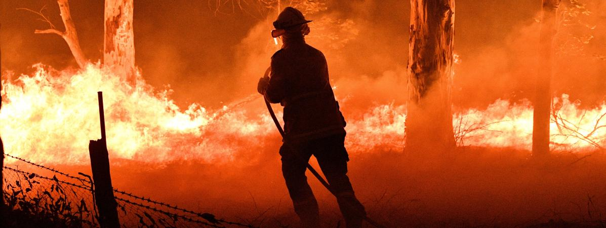 Feux de forêt en Australie : les fumée des incendies ont atteint l'Argentine et le Chili