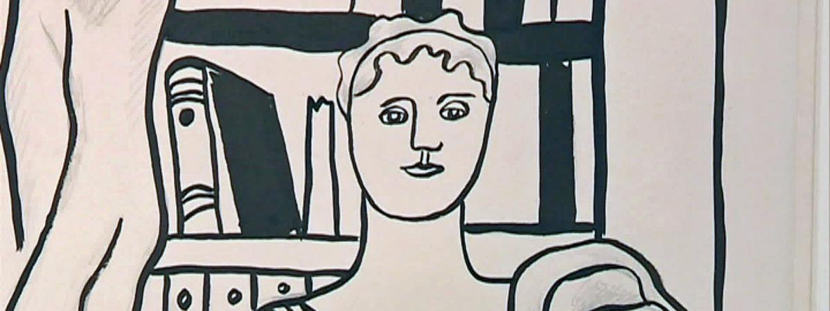Un portrait de femme de Fernand Léger