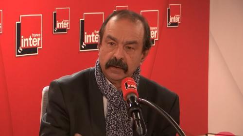 """VIDEO. Retraites : """"La CGT va participer aux négociations"""" mais n'a entendu aucun signe d'ouverture, indique Philippe Martinez sur France Inter"""