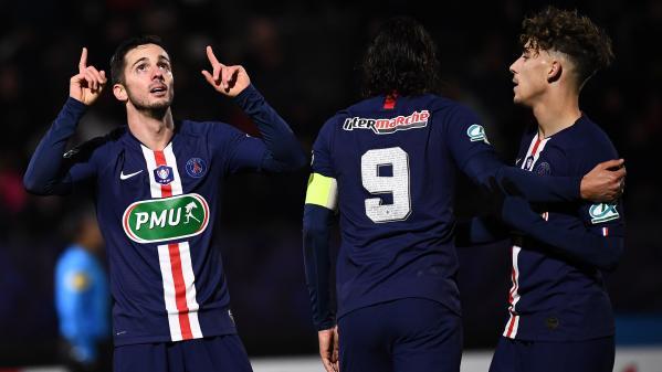 Regardez la finale de la Coupe de la Ligue entre l'AS Saint-Etienne et le Paris Saint-Germain