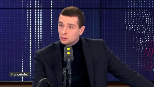 """Crise avec l'Iran, réforme des retraites, Emmanuel Macron... le """"8h30 franceinfo"""" de Jordan Bardella"""