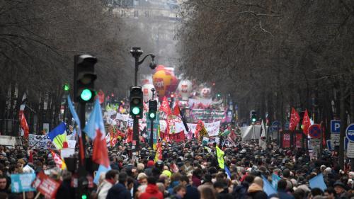 DIRECT. Grève du 9 janvier : la CGT revendique 370 000 manifestants à Paris, soit la plus forte mobilisation depuis le début du mouvement