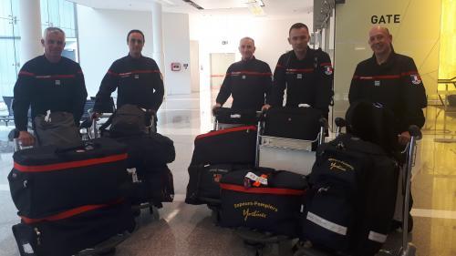"""Des pompiers français sont arrivés en Australie : """"On vient pour voir comment on peut les aider"""""""