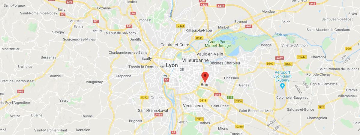Les faits se sont déroulés à Bron près de Lyon.
