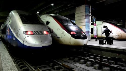 Grève du 13 janvier : le trafic SNCF s'améliore avec quatre TGV sur cinq et sept TER sur dix, mais seulement quatre Intercités sur dix