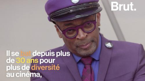 VIDEO. De l'école de cinéma financée par sa grand-mère au jury du Festival de Cannes... La vie de Spike Lee