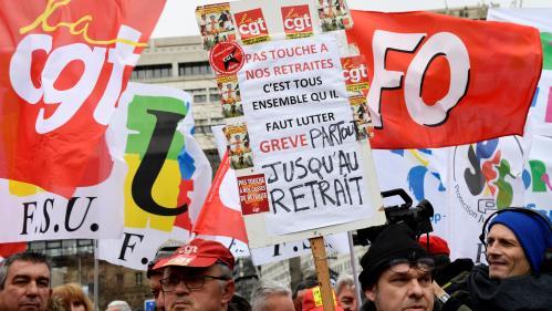 """DIRECT. Réforme des retraites : l'intersyndicale appelle à une mobilisation """"massive"""" aujourd'hui, pour donner un second souffle au mouvement"""