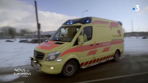 VIDEO. L'Estonie est le premier pays européen à s'être doté d'ambulances connectées pour le bien des patients